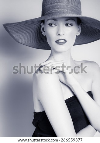 High fashion shoot. - stock photo