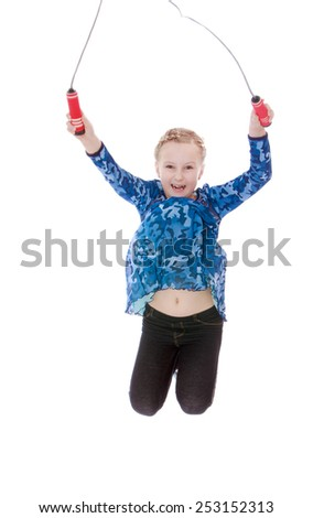 images of girls jumping rope № 13238