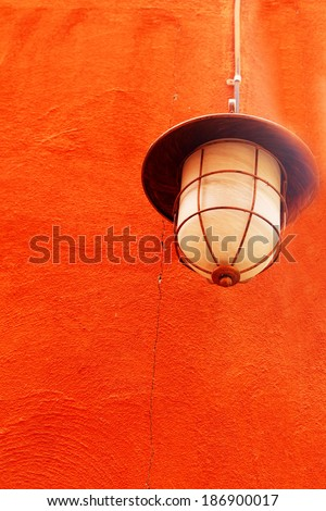high lamps  - stock photo