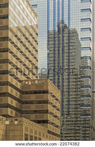 High office buildings in Philadelphia - stock photo
