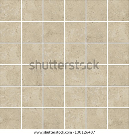 High-quality Brown mosaic pattern background. - stock photo