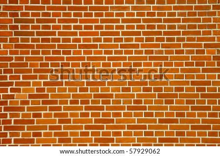 High quality texture of bricks of sandstone - stock photo