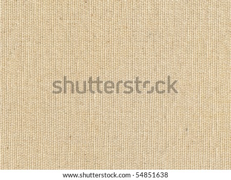 High quality texture of the cotton canvas, the high accuracy of the details - stock photo