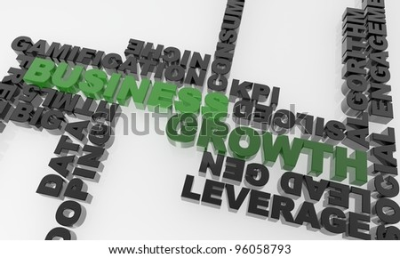 high quality three dimensional text. Great for business presentations and print materials. - stock photo