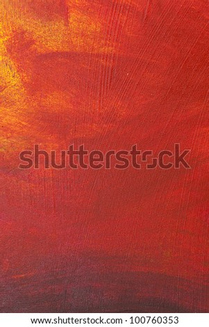 High resolution acrylic paint on canvas - stock photo