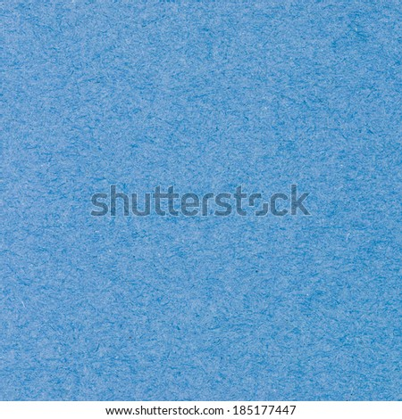 High resolution blue recycled paper texture as background - stock photo
