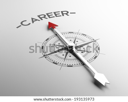 High Resolution Career Concept - stock photo