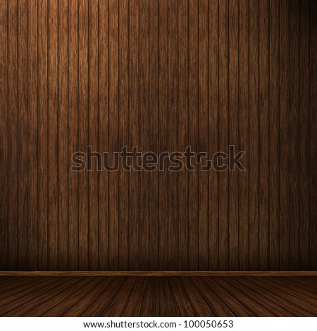 High resolution creative wood background - stock photo