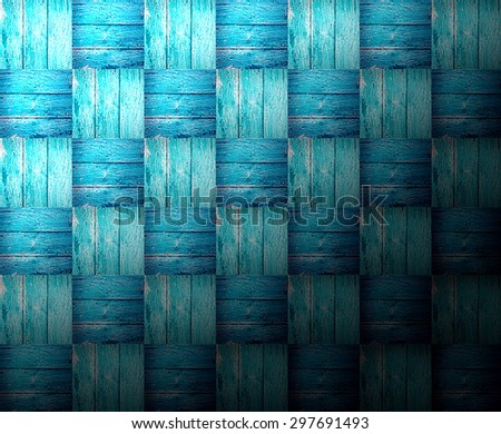 High resolution fine arranged vintage panel wood background from solid wood ruin table pale gross color - stock photo
