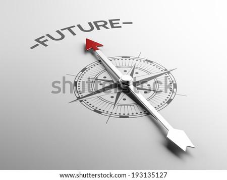 High Resolution Future Concept - stock photo
