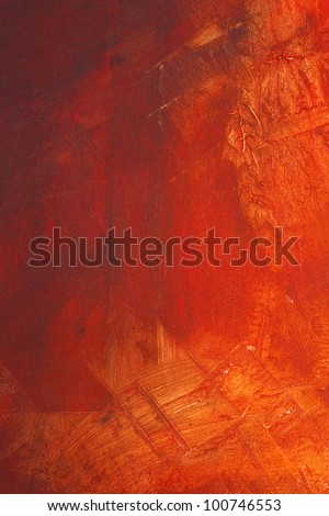 High resolution paint on canvas - stock photo