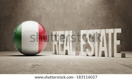 High Resolution Real Estate Concept - stock photo