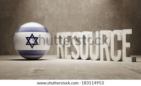 High Resolution Resource Concept - stock photo