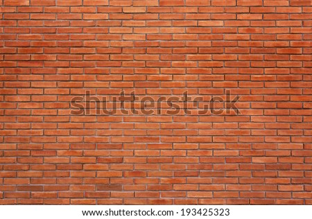 high resolution seamless brick wall texture - stock photo