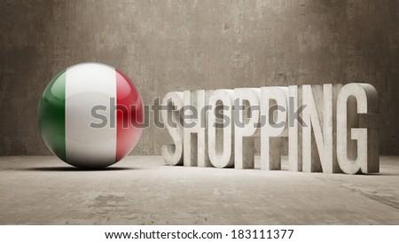 High Resolution Shopping - stock photo