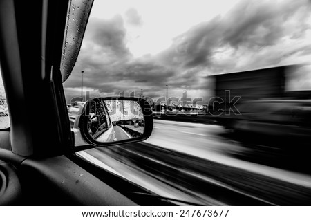 High Speed Motion - stock photo