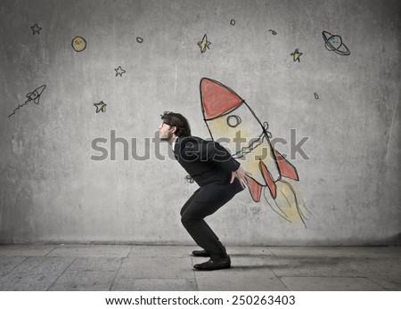 High targets  - stock photo