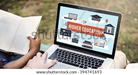 Higher Education Academic Bachelor Financial Aid Concept - stock photo
