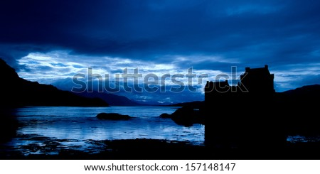 HIGHLAND IN SCOTLAND - stock photo