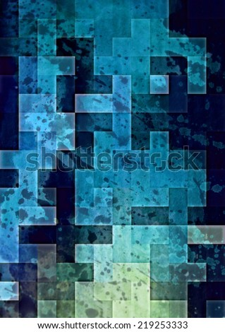 Highly detailed grunge abstract textured collage design ,background or texture  - stock photo