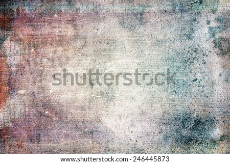 highly Detailed grunge background with space - stock photo