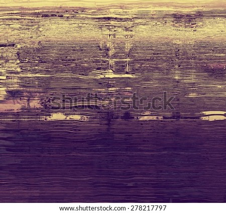 Highly detailed grunge texture or background. With different color patterns: yellow (beige); brown; purple (violet) - stock photo