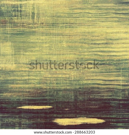 Highly detailed grunge texture or background. With different color patterns: yellow (beige); brown; green; black - stock photo