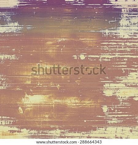 Highly detailed grunge texture or background. With different color patterns: yellow (beige); brown; gray; purple (violet) - stock photo