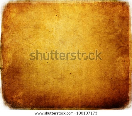 highly Detailed textured grunge background frame with space for your projects - stock photo