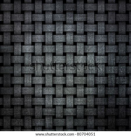 highly detailed weave grunge background - stock photo