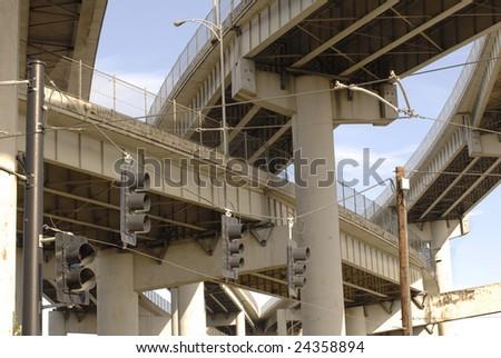 Highway Bridges - stock photo