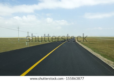 Highway extension - stock photo