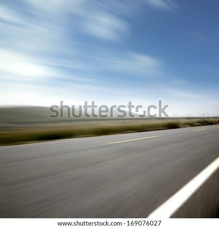 Highway Speed - stock photo
