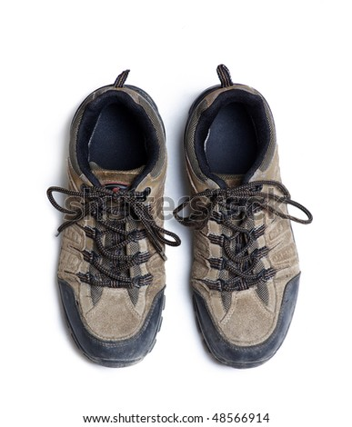 Hiking shoes - stock photo
