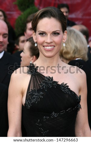 Hillary Swank 80th Academy Awards ( Oscars) Kodak Theater Los Angeles, CA February 24, 2008 - stock photo
