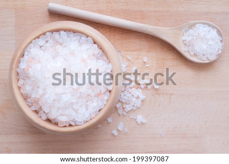 Himalaya salt - stock photo