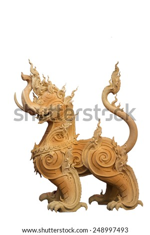 Himmapan creatures - stock photo