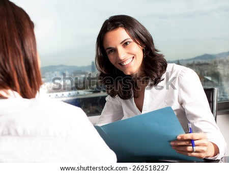 Hiring people - stock photo