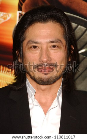 "Hiroyuki Sanada at the Los Angeles Premiere of ""Rush Hour 3"". Mann's Chinese Theater, Hollywood, CA. 07-30-07 - stock photo"