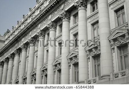 Historic building Architecture - stock photo