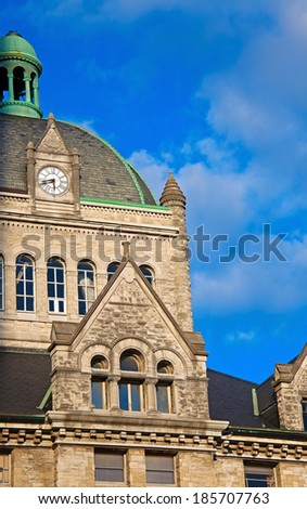 Historic building in the center of Lexington, Kentucky. - stock photo