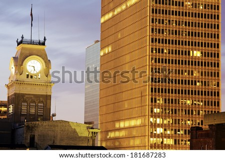 Historic city hall in Louisville, Kentucky - stock photo