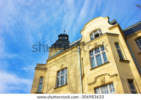 Historic Residential Houses in Berlin  - stock photo
