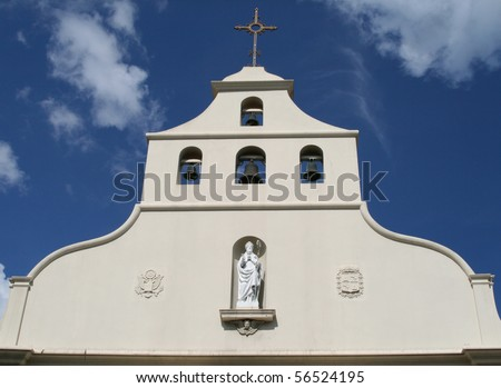 Historic St. Augustine Church - stock photo