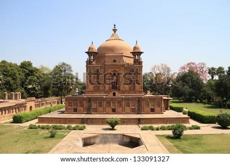 Historical Monument in Allahabad, Uttar Pradesh, India - stock photo