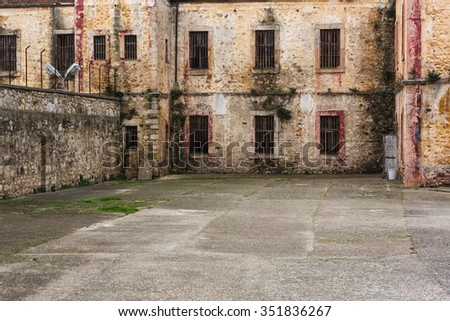 Historical Sinop prison,Turkey  - stock photo