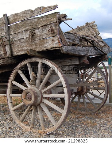 Historical Wagon - stock photo
