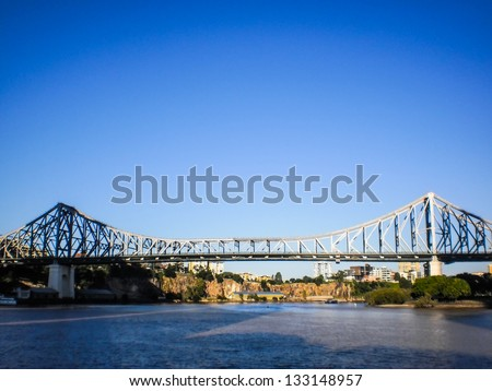 History bridge in Brisbane - stock photo