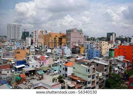 Ho Chi Minh City, Saigon, Vietnam - stock photo