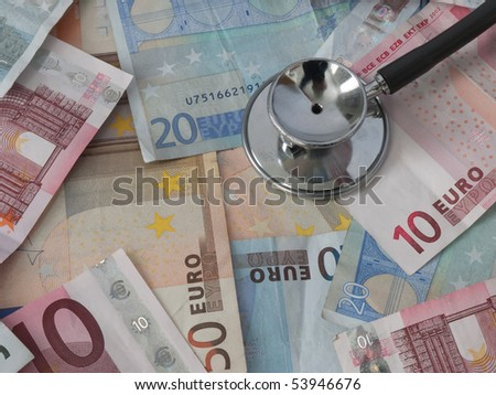 Hoe healthy is your money - stock photo